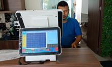 Bán máy tính tiền cảm ứng 2 màn hình tại Tiền Giang