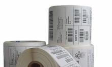 Bán giấy in tem trà sữa giá rẻ tại Sóc Trăng