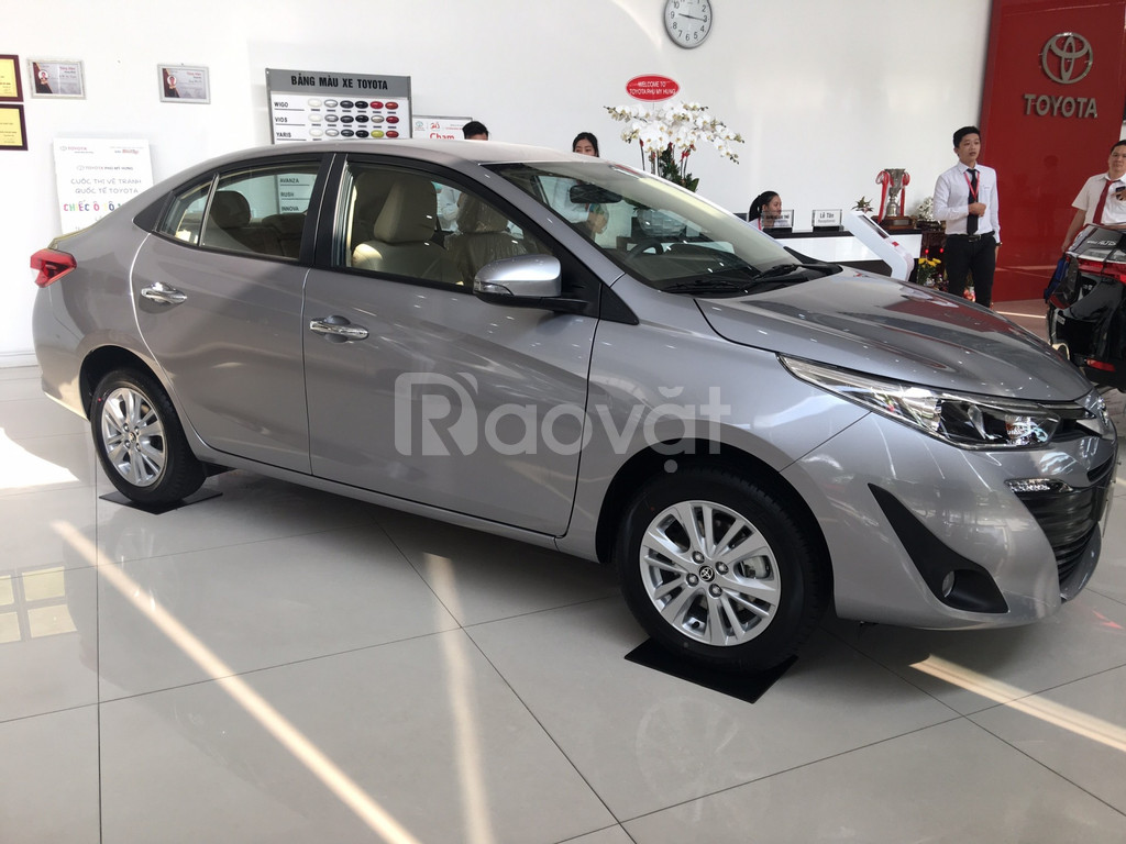 Toyota Vios 2019 mừng Xuân Kỷ Hợi giảm ngay 20tr, lăn bánh chỉ từ 150t