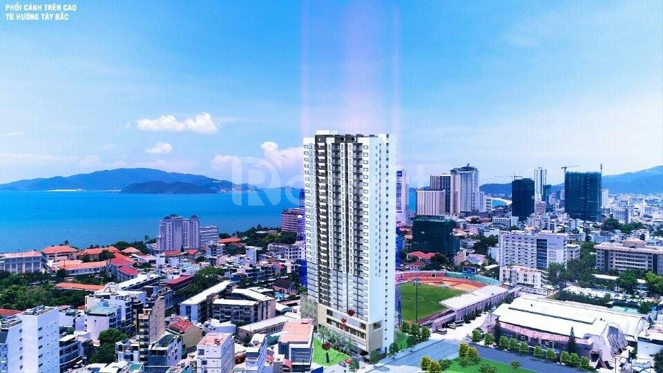 Chung cư cao cấp trung tâm, view biển Nha Trang đẹp phố biển