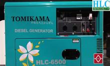 Máy phát điện chạy dầu Tomikama hiện đại giá rẻ