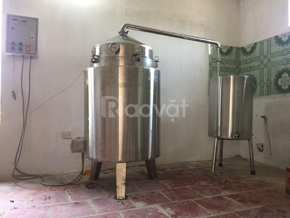 Nồi nấu rượu bằng điện tự động (ảnh 3)