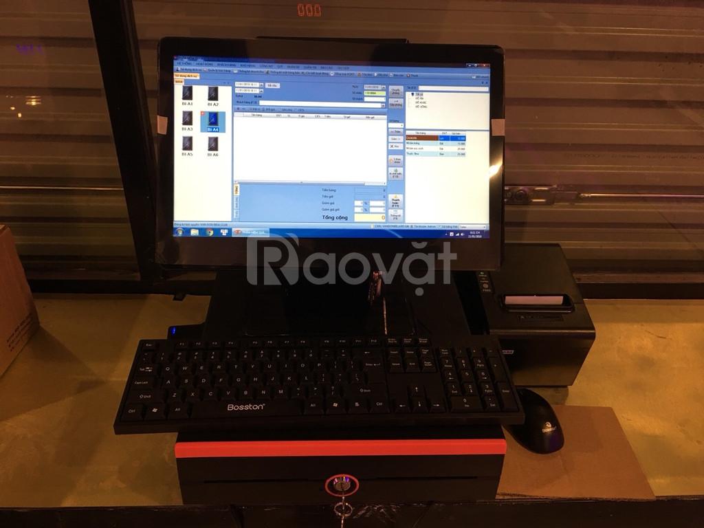 Máy tính tiền cảm ứng cho quán bida tại  Hà Tĩnh