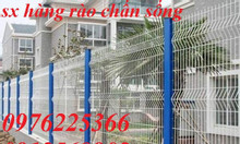 Hàng rào cột trái đào, hàng rào mạ điện phân, sơn tĩnh điện