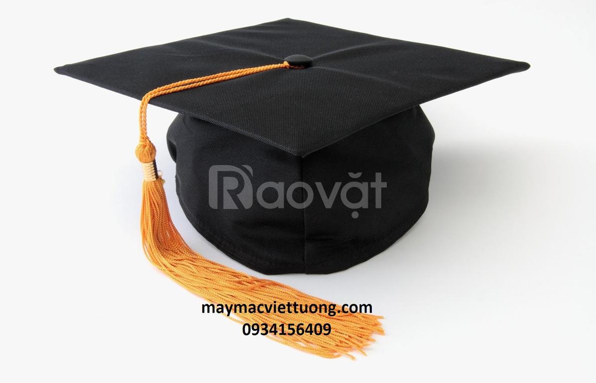 Xưởng may nón tốt nghiệp, áo tốt nghiệp, lễ phục tốt nghiệp giá rẻ
