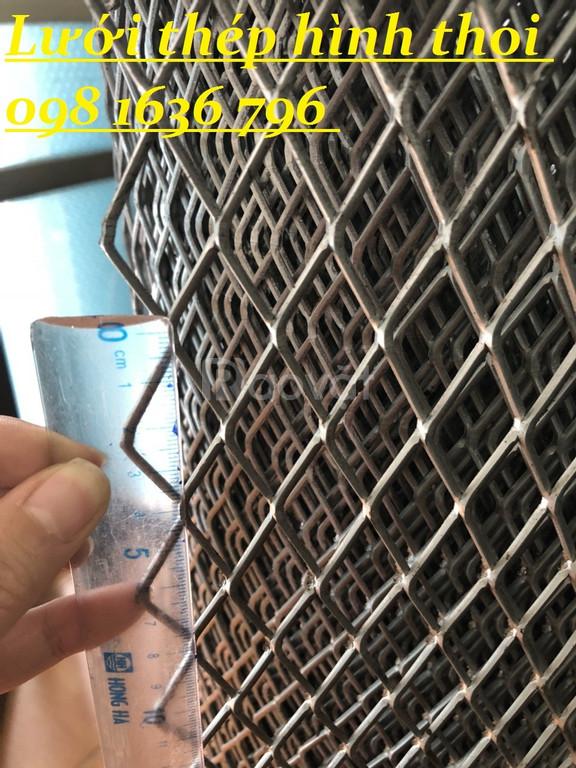 Lưới hình thoi, lưới kéo giãn, lưới thép giá rẻ