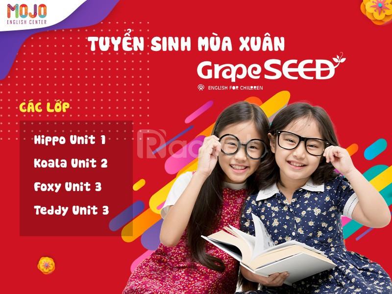 Tuyển sinh GrapeSeed unit 1; 2; 3 tại MoJo English Cầu Giấy Hà Nội