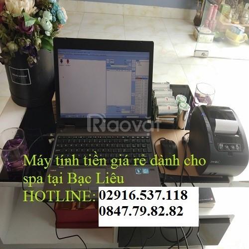 Chuyên bán máy tính tiền cho spa, salon tiệm nail tại Cà Mau