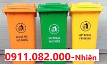 Chuyên bán thùng rác nhập khẩu nhựa hdpe - thùng rác 120L 240L