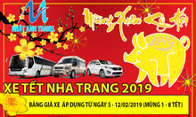 Nhà xe Nhật Anh cung cấp xe du lịch từ 4 - 16 chỗ giá rẻ Nha Trang