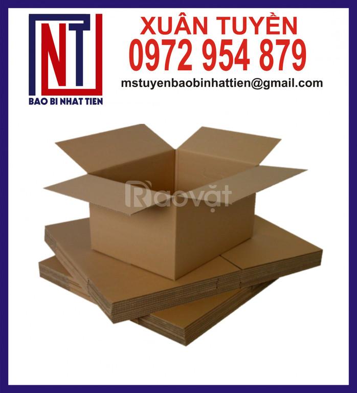 Bao bì carton giá rẻ, thùng carton thường