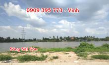 Chỉ còn vài lô đất mặt tiền sông Sài Gòn giá 4,2 tỷ/lô 170m2