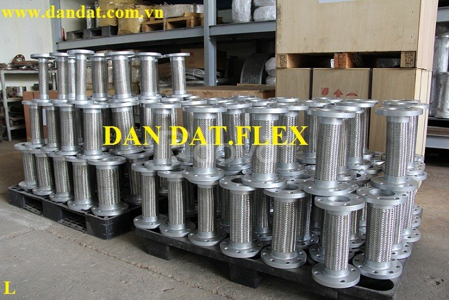 Khớp nối mềm cao su, ống mềm inox, khớp chống rung inox 304