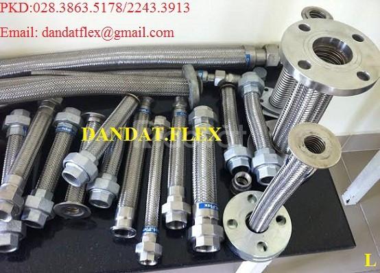 Ống bô xả máy phát điện, ống xả inox, ống bô inox, khớp nối giãn nở  (ảnh 5)