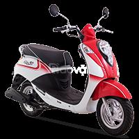 Bán xe SYM Eliet 50cc đỏ - trắng, xanh trắng