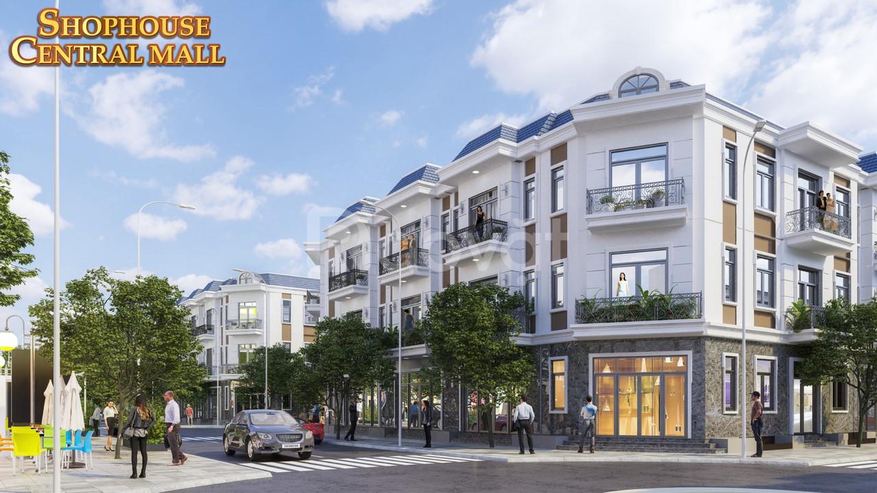 Nhà phố thương mại xây sẵn ở Long An tăng giá gấp đôi
