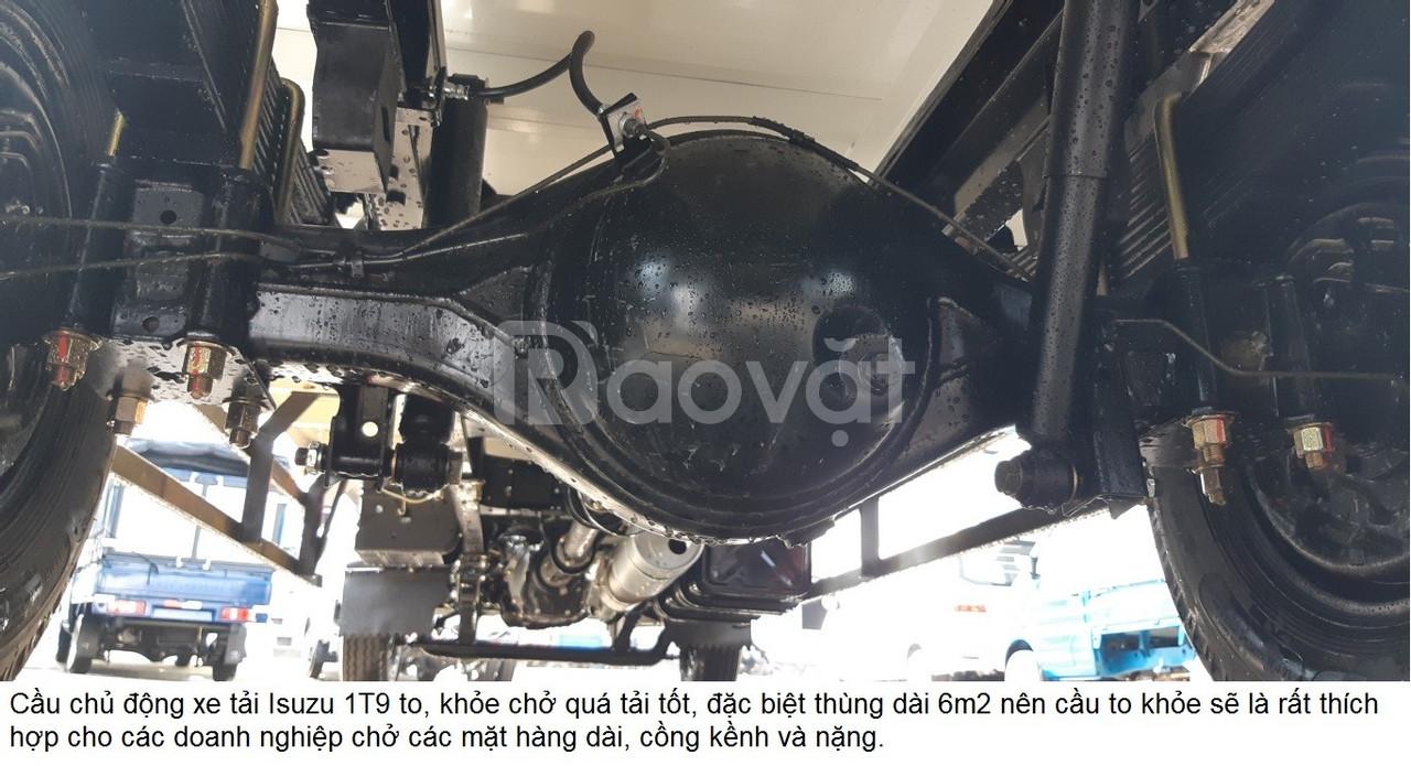 Xe DongBen thùng bạt 810kg