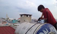 Thau bể nước tại Nguyễn Lương Bằng thau rửa bể nước ngầm