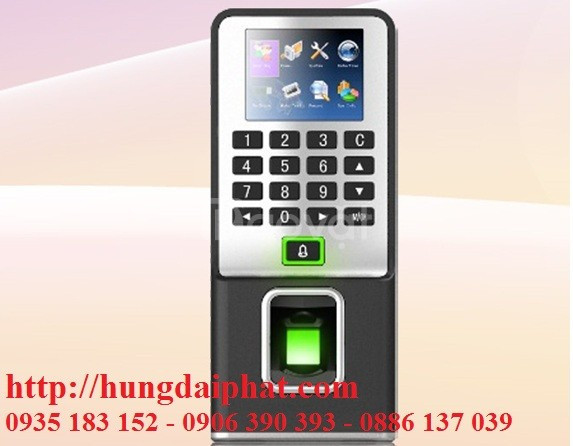 Máy chấm công kiểm soát cửa bằng vân tay và thẻ cảm ứng MITA F09