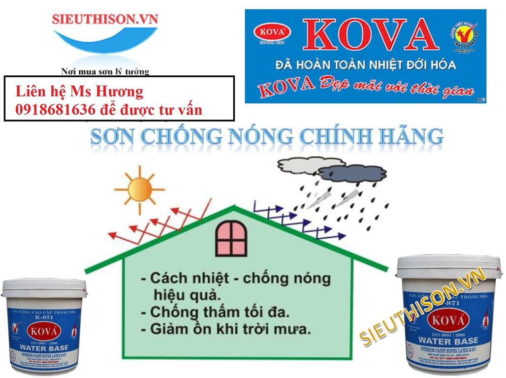 Tìm đại lý phân phối sơn Kova chiết khấu cao tại Đồng Nai