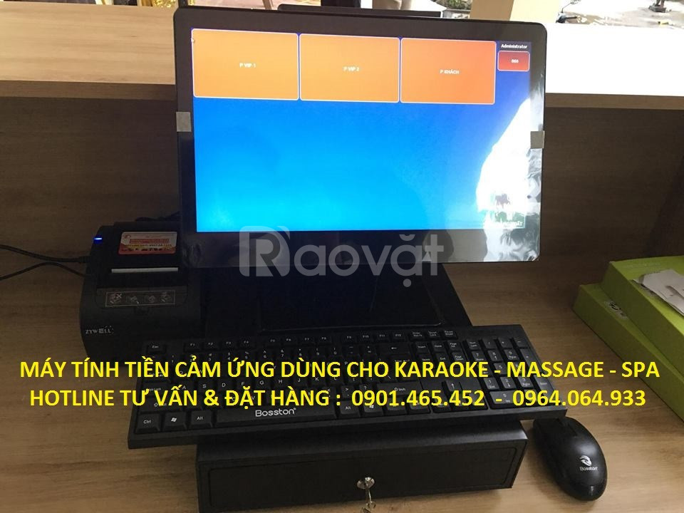 Bán máy tính tiền trọn bộ cho Quán Karaoke tại Hải Phòng Bắc Ninh