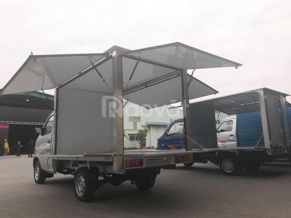 Xe DongBen 770kg  thùng cánh dơi