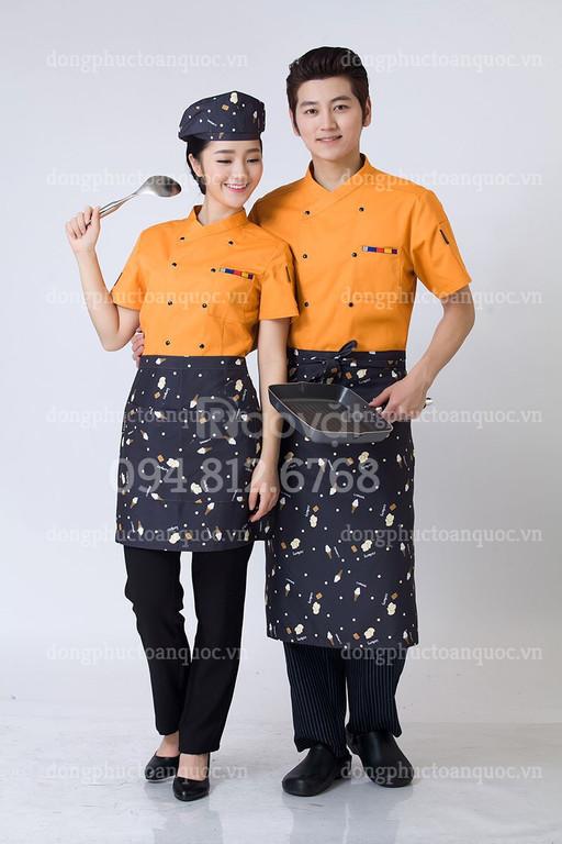 Địa chỉ may đồng phục đầu bếp nhanh chóng, uy tín, chất lượng