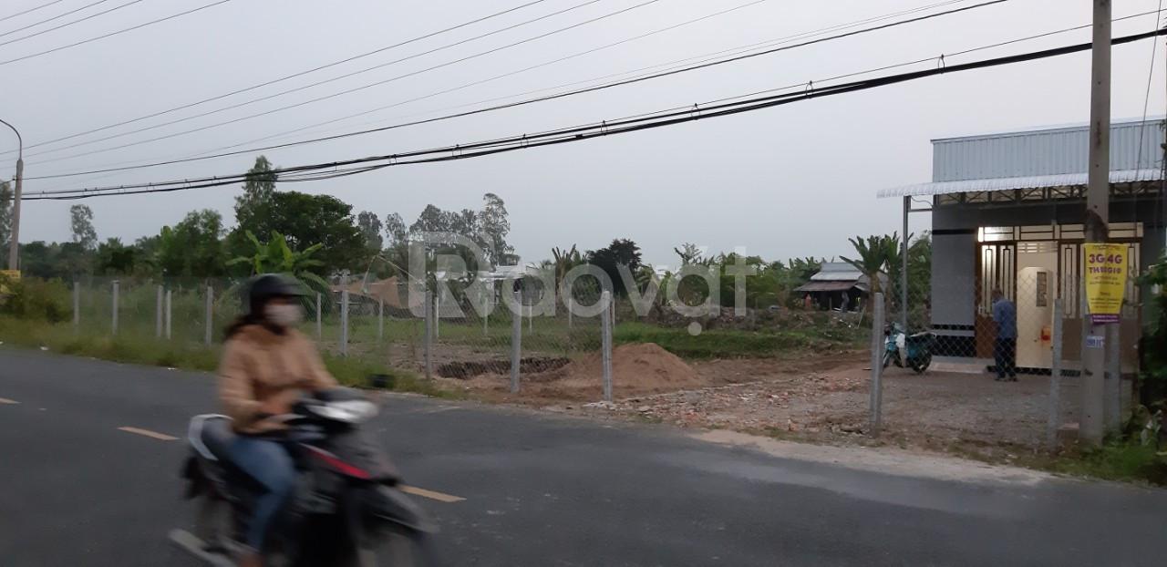 Cho thuê lô đất DT lớn Tỉnh Lộ 919 xã Thạnh Phú, tiện KD, 10tr/tháng