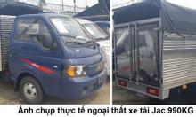 Bán xe tải JAC 990Kg- thùng bạt