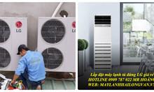 Hệ thống báo và lắp đặt giá dòng máy lạnh multi Daikin chính hiệu