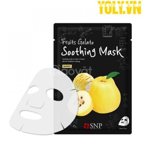 Mặt nạ tinh chất lê xay SNP Fruits Gelato Soothing Mask
