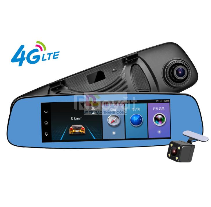 Camera hành trình gương 4G HP E06
