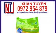 Bao bì gạo 2kg, in bao bì gạo