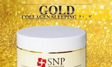 Mặt nạ ngủ vàng Hàn Quốc SNP Gold Collagen Sleeping Pack