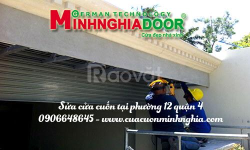 Sửa cửa cuốn quận 5 TPHCM