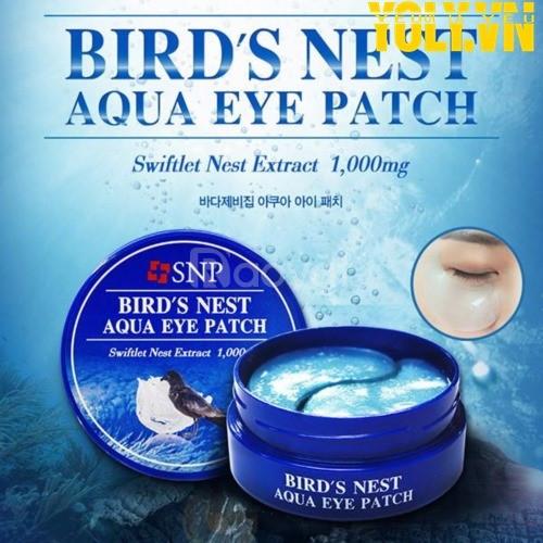 Mặt nạ mắt chiết xuất tổ yến SNP Bird's Nest Aqua Eye Patch