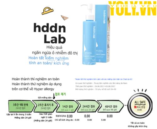 Sữa rửa mặt tẩy trang SNP HDDN = LAB Brand New Magnetic Cleanser