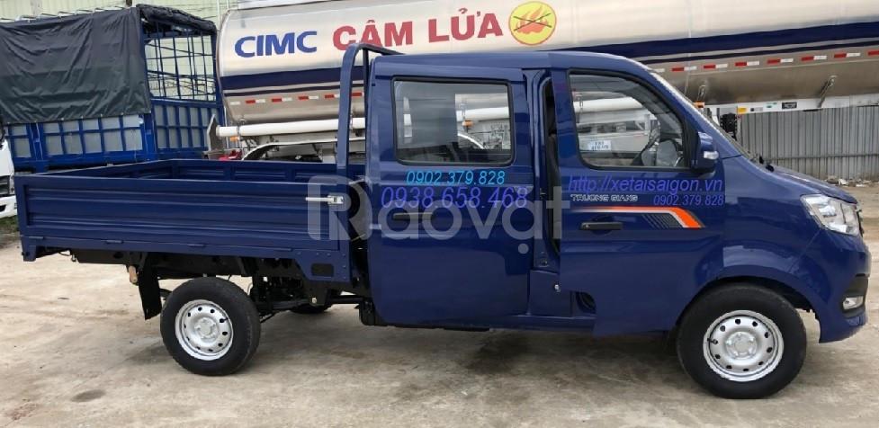 Xe tải Trường Giang t3 810kg cabin kép