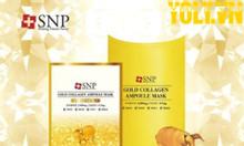 Mặt nạ tinh chất vàng SNP Gold Collagen Ampoule Mask