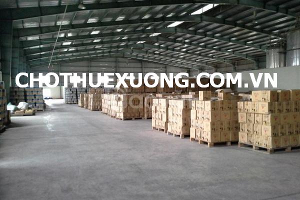 Cho thuê nhà xưởng tiêu chuẩn tại khu công nghiệp Phú Minh Từ Liêm HN