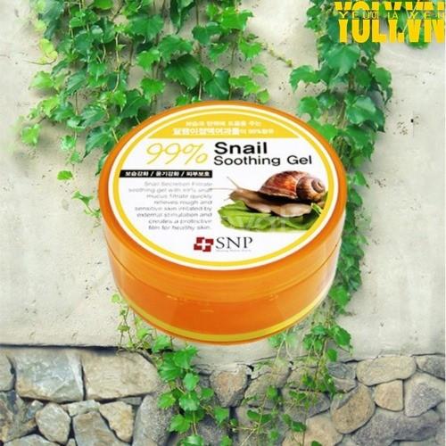 Gel tinh chất ốc sên Hàn Quốc SNP Snail 99% Soothing Gel