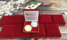 Combo 10 cặp xu hình con heo vàng bạc của Úc