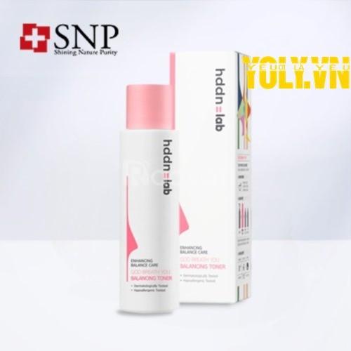 Nước hoa hồng mềm da SNP HDDN = LAB God Breath You Balancing Toner