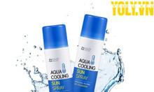 Kem chống nắng dạng xịt Hàn Quốc SNP Aqua Cooling Sun Spray