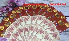 Combo 20 bộ tiền thuận buồm xuôi gió và thiệp của Indonesia