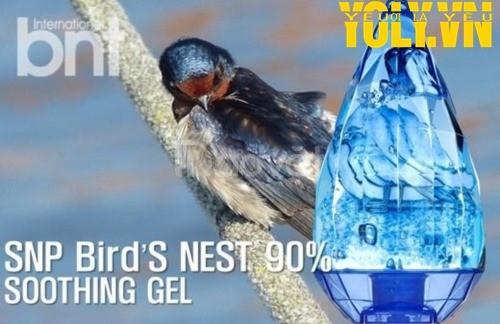 Gel làm dịu da tinh chất tổ yến SNP Bird's Nest 90% Soothing Gel