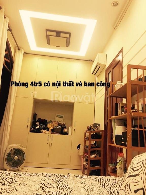 Cho nữ thuê phòng có nội thất an ninh Phú Nhuận