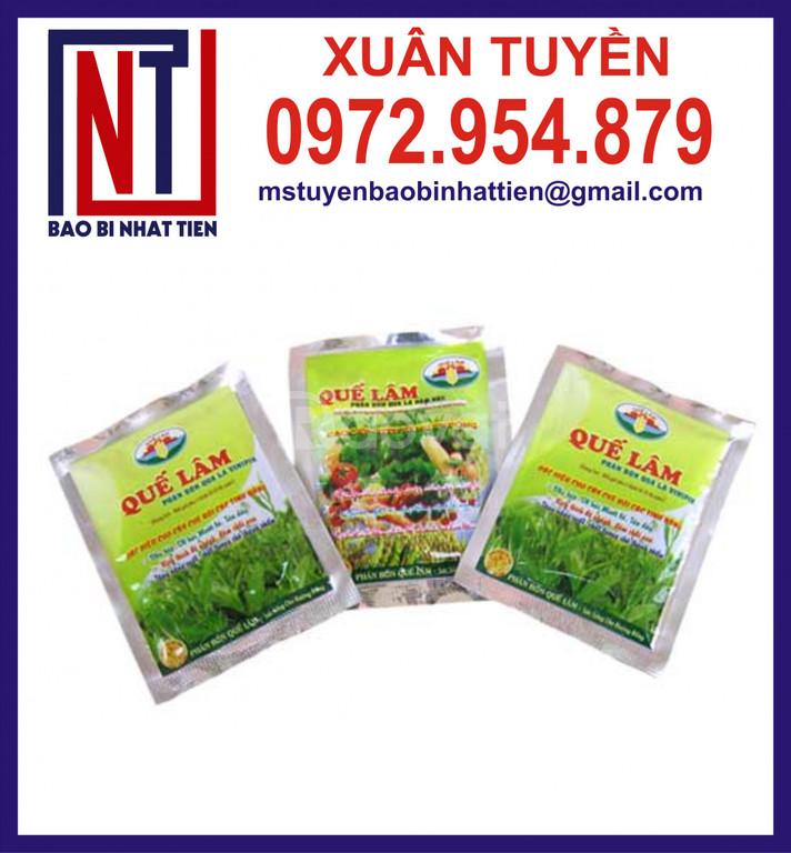 Bao bì đựng thuốc bảo vệ thực vật