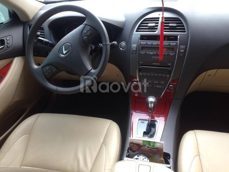 Bán gấp xe Lexus ES350 2009 màu trắng nhập Nhật