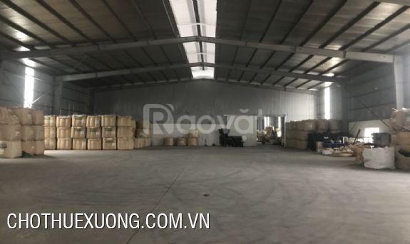 Cho thuê nhà xưởng tại Bắc Ninh, Khu công nghiệp Khai Sơn giá rẻ
